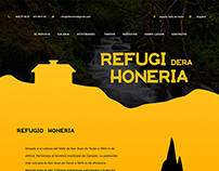 Refugio Honeria Spain - Web Design