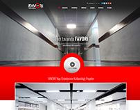 Favori Yapı Asma Tavan Sistemleri Web Sitesi Tasarımı