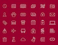 Chapman University App Icons