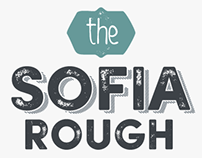 Sofia Rough Typeface