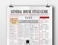 General House Style Guide (A typography module)