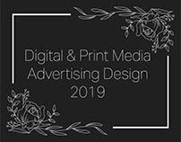 Advertising & Editorial Design | 2019