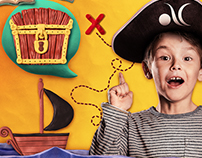 Dia das Crianças | Em busca do tesouro perdido