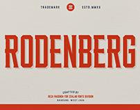 RODENBERG MULTIPURPOSE TYPEFACE