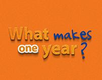 Itaú - Do que é feito um ano?