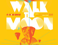 Walk the Moon - Screenprinted Gigposter