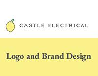 Castle Electrical Ltd Logo and Brand Design