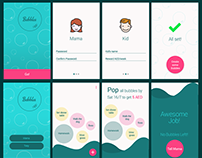 Bubbles: Reward System for Kids - Sample Screens