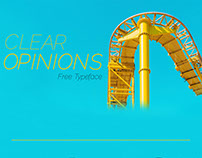 Free Clear Opinions Free Fonts