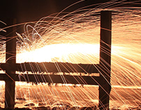 Light Paintings | Steel Wool