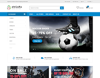 Angara - Multipurpose Mega Shop eCommerce Template