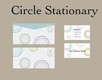 Circular Stationary Concept - Branding
