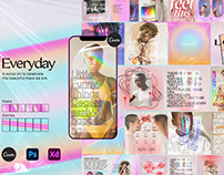 Everyday Instagram Social kit CANVA