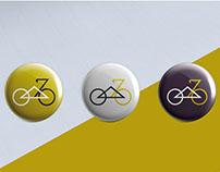 Warsaw Uprising Bicycle Event branding