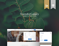 TransferGalaxy - Website Redesign