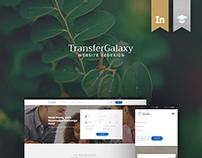 TransferGalaxy - Website Redesign