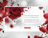 Website design of florist company