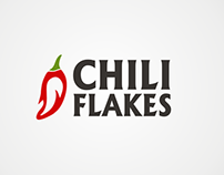 Chili Flakes Restaurant - Proposed Logos