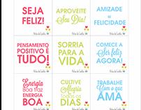 """Material Publicitário """"Artes da Carlota"""""""