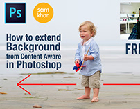 how to Quick HACK for UNLIMITED Background in photoshop