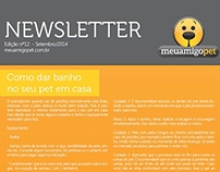 Newsletter meuamigopet
