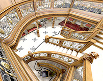 RMS Titanic - Aft Grand Staircase