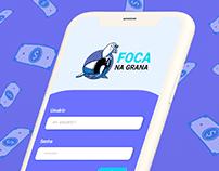 Identidade Visual: App Foca na Grana