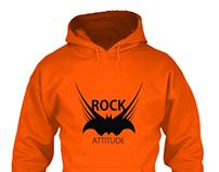Rock Attitude Tshirt Design