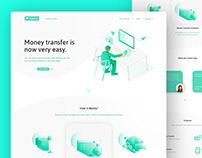 FastPay Money Transfer Website // Web Design