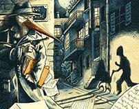 inspecteur londubec / la cigogne marche sur des œufs