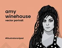 Amy Winehouse - Vector Portrait