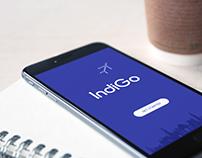Indigo Airlines Mobile APP Redesign Concept