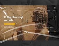 VINYL RECORDS E-COMMERCE