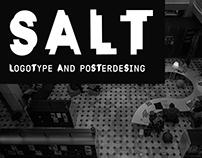 SALT logotype and posterdesing