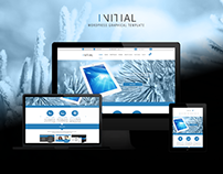 Initial - Wordpress template