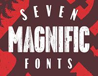 7 Magnific Fonts