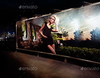 Billboards At Night Mock-Ups Pack