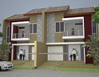 Desain&Build Rumah Tropis Moderen Karang Menur Surabaya