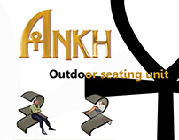 Ankh - Outdoor seating unit