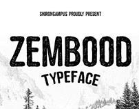 Handmade Font Zembood Typeface