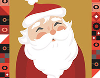 Kohl's Santa's On His Way Illustration