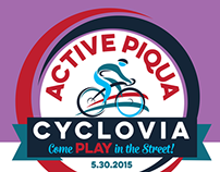 Active Piqua Cyclovia rack card