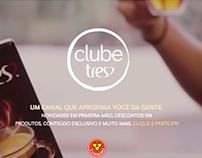 E-mails transacionais Clube TRES