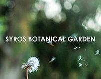 Syros Botanical Garden visual identity