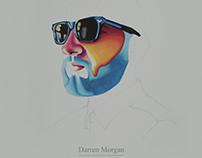 Darren Morgan - Thinking About You. Album Artwork.