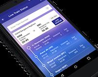 IRCTC App Redesign