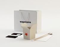 Wagamama Lounge Identity