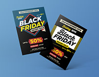 2 Free Black Friday 2018 Flyer Design Templates
