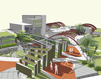 Design of architectural environment for campus