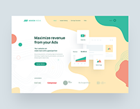 Newor Media - Landing Page Redesign
